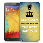 Skal till Samsung Galaxy Note 3 Neo - Keep Calm - Best dad