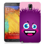 Skal till Samsung Galaxy Note 3 Neo - Lila monster