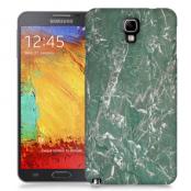 Skal till Samsung Galaxy Note 3 Neo - Marble - Grön