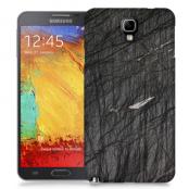 Skal till Samsung Galaxy Note 3 Neo - Marble - Svart
