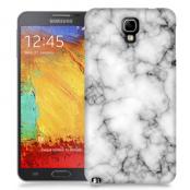 Skal till Samsung Galaxy Note 3 Neo - Marble - Vit/Svart