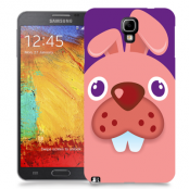 Skal till Samsung Galaxy Note 3 Neo - Rosa kanin