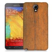 Skal till Samsung Galaxy Note 3 Neo - Slitet trä