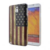 Baksidesskal till Samsung Galaxy Note 3 - Amerikanska Flaggan
