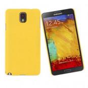 Baksidesskal till Samsung Galaxy Note 3 N9000 (Gul)