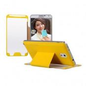 BASEUS flip fodral till Samsung Galaxy Note 3 N9000 (Gul)