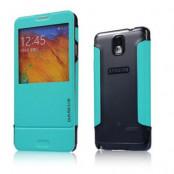 BASEUS Folio fodral till Samsung Galaxy Note 3 N9000 (Turkos)