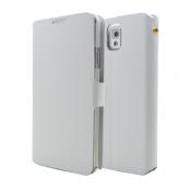 Doormoon Äkta Läder väska till Samsung Galaxy Note 3 N9000 (Vit)