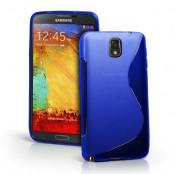FlexiCase Skal till Samsung Galaxy Note 3 N9000 (Blå)