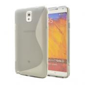 FlexiCase Skal till Samsung Galaxy Note 3 N9000 (Grå)