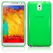FlexiCase Skal till Samsung Galaxy Note 3 N9000 (Grön)
