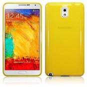 FlexiCase Skal till Samsung Galaxy Note 3 N9000 (Gul)