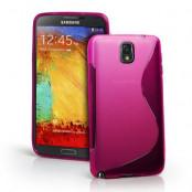 FlexiCase Skal till Samsung Galaxy Note 3 N9000 (Magenta)