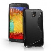 FlexiCase Skal till Samsung Galaxy Note 3 N9000 (Svart)