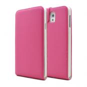 Flip mobilväska till Samsung Galaxy Note 3 N9000 (Magenta)