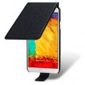 Flip Mobilväska/Fodral till Samsung Galaxy Note 3 N9000 - Svart