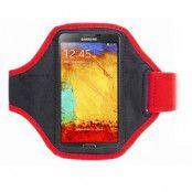 Neoprene Sportarmband till Samsung Galaxy Note 3 N9000 (Röd)