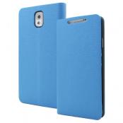Plånboksfodral till Samsung Galaxy Note 3 N9000 (Blå)