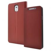 Plånboksfodral till Samsung Galaxy Note 3 N9000 (Brun)