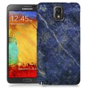 Skal till Samsung Galaxy Note 3 - Marble - Blå