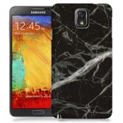 Skal till Samsung Galaxy Note 3 - Marble - Svart