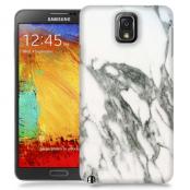 Skal till Samsung Galaxy Note 3 - Marble - Vit/Grå