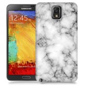 Skal till Samsung Galaxy Note 3 - Marble - Vit/Svart