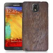 Skal till Samsung Galaxy Note 3 - Slitet trä