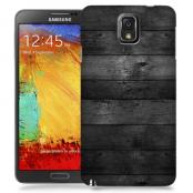 Skal till Samsung Galaxy Note 3 - Svarta plankor