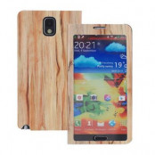 Wood Style Windows Case till Samsung Galaxy Note 3 N9000 (WDWS3)