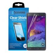 CoveredGear Clear Shield skärmskydd till Samsung Galaxy Note 4