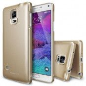 Ringke Slim Dual Coated Skal till Samsung Galaxy Note 4 - Gold