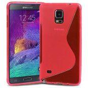 S-Line Flexicase Skal till Samsung Galaxy Note 4 (Magenta)