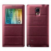 S-view Flip cover Samsung Galaxy Note 4 (Plum)