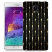 Skal till Samsung Galaxy Note 4 - Gulddrapperi