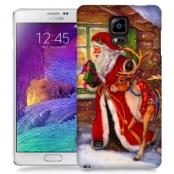 Skal till Samsung Galaxy Note 4 - Jultomte och ren
