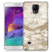 Skal till Samsung Galaxy Note 4 - Marble - Beige