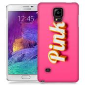 Skal till Samsung Galaxy Note 4 - Pink - Rosa
