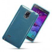 Terrapin Flexicase Skal till Samsung Galaxy Note 4 (Blå)