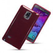 Terrapin Flexicase Skal till Samsung Galaxy Note 4 (Röd)