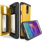 Verus Damda Veil skal med spegel till Samsung Galaxy Note 4 - Gul