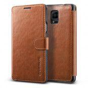 Verus Dandy Layered Plånboksfodral till Samsung Galaxy Note 4 - Brun