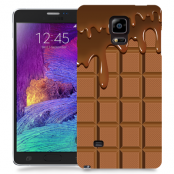 Skal till Samsung Galaxy Note Edge - Choklad
