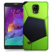 Skal till Samsung Galaxy Note Edge - Fotboll - Grön