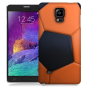 Skal till Samsung Galaxy Note Edge - Fotboll - Orange