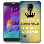 Skal till Samsung Galaxy Note Edge - Keep Calm - Best dad