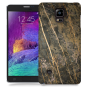 Skal till Samsung Galaxy Note Edge - Marble - Brun