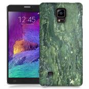 Skal till Samsung Galaxy Note Edge - Marble - Grön