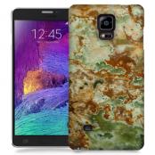 Skal till Samsung Galaxy Note Edge - Marble - Grön/Brun