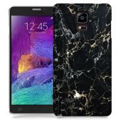 Skal till Samsung Galaxy Note Edge - Marble - Svart